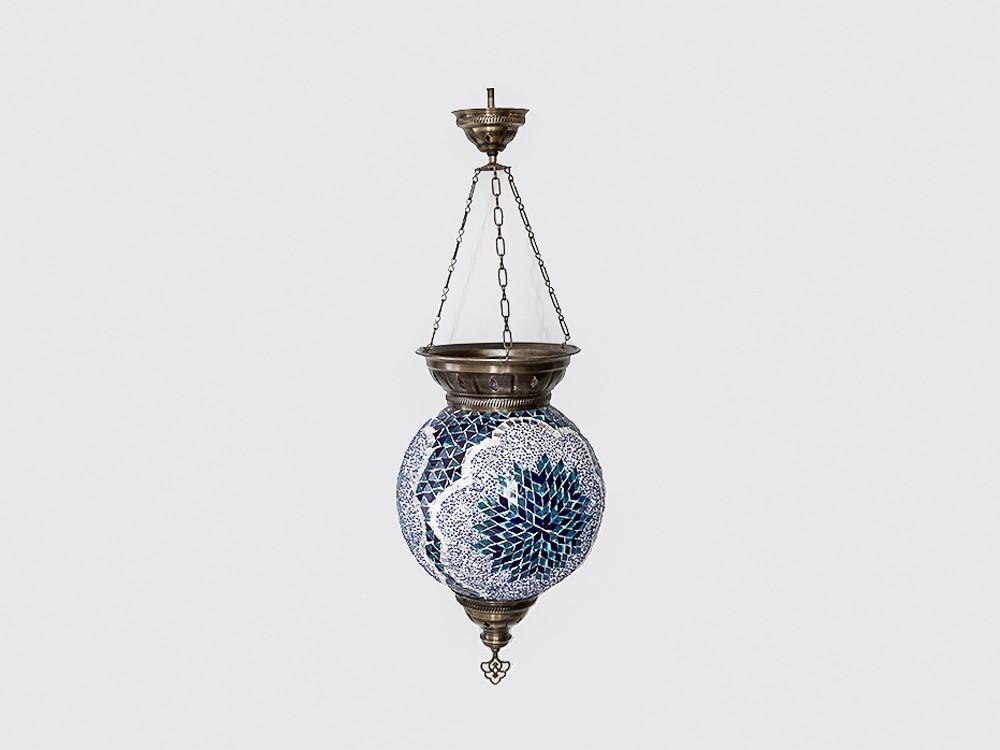 Lampada Turca Blu Light